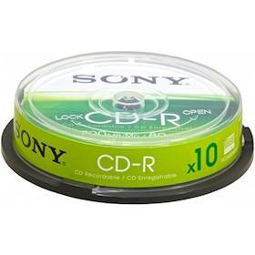 SONY CD-R/ 700MB 80Min 48xspd