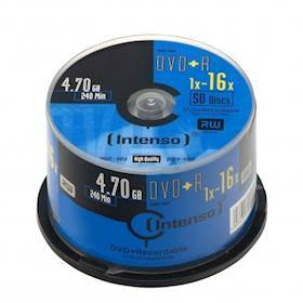 INTENSO DVD+R Intenso 4,7GB 50pcs