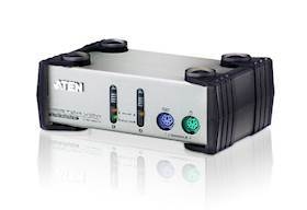 ATEN 2 port PS2 KVM