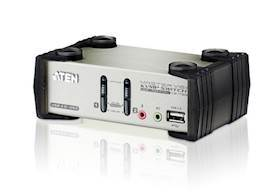 ATEN 2 port USB KVM