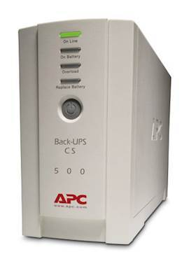APC BACK-UPS 500CS 500VA 300W