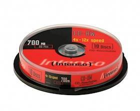 INTENSO DVD-R 4,7GB 10pcs Slim