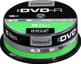 INTENSO DVD-R 4,7GB 25pcs