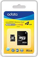 A-DATA 4GB microSDHC Card Class