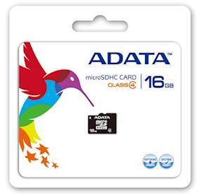 A-DATA 16GB microSDHC Card Class