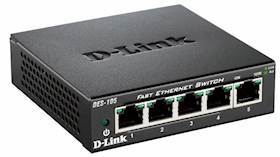 D-LINK Switch/ 5xF+ENet RJ45 ext