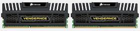 CORSAIR DDR3 16GB / 1600Mhz Vengeance