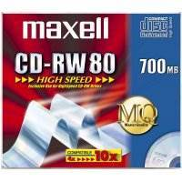 MAXELL CD-RW 80 700MB SILVER