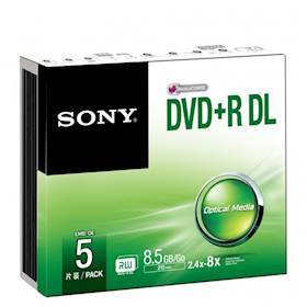 SONY DVD+R, DOUB LAYER SLIM
