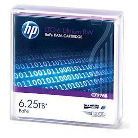 Hewlett Packard Enterprise LTO-6 Ultrium 6.25TB BaFe