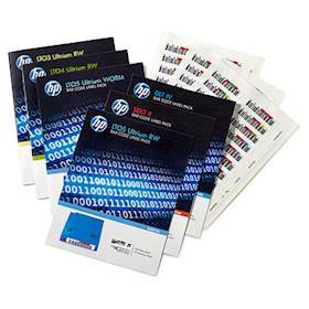 Hewlett Packard Enterprise LTO-6 Ultrium RW Bar