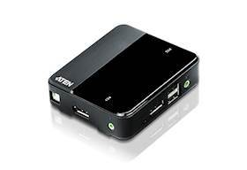 ATEN 2 port USB DisplayPort
