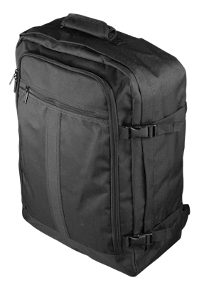 DELTACO Cabin Bag Black