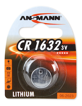 ANSMANN CR1632 Lithium battery, 3V
