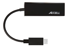 ACCELL USB-C to Gigabit Ethernet