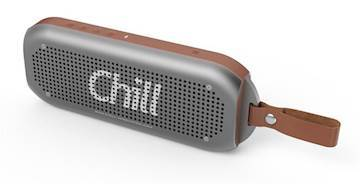 CHILL-INNOVATION A3 Bluetooth Alu Stereospeaker Gunmetal