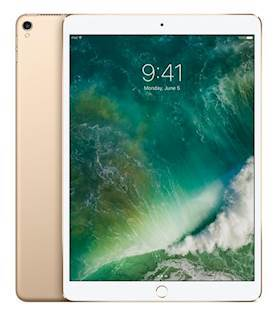 APPLE 10.5IN IPAD P WI-FI256GB GOLD IOS ND SYST