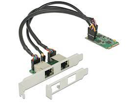 DELOCK 95258 Mini PCIe I/O