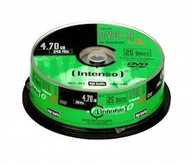 INTENSO DVD-R Intenso 4,7GB 25pcs