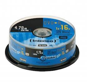 INTENSO DVD+R Intenso 4,7GB 25pcs